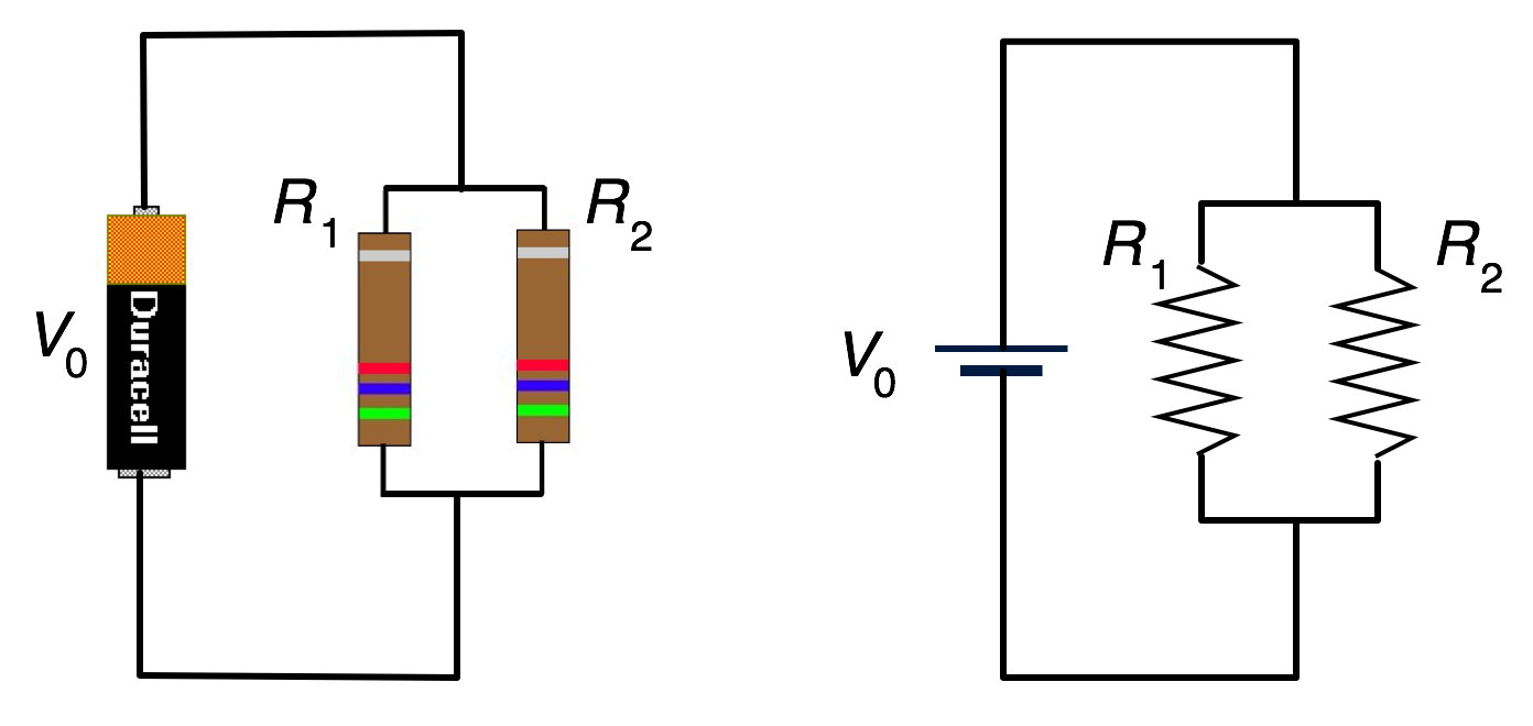 umdberg    example  resistors in parallel